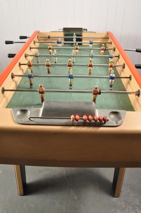 Vintage Bonzini Football Table Antique Accessories