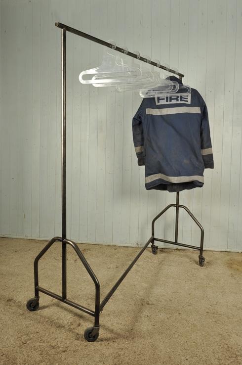 Vintage Industrial Clothes Hanging Rail - Vintage Accessories - Original House